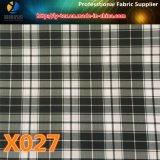 Товары в штоке! Ткань тканья проверки полиэфира цветастая для одежды (X025-27)