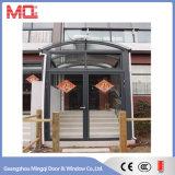 Puerta de aluminio del vidrio de la apertura de Exexternal