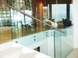 Cerfiricate를 가진 상업적인 건물을%s 안전 Frameless 유리제 난간 또는 방책