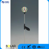 Nbc-9104 scaldano l'indicatore luminoso d'acciaio chiaro bianco del vaso del LED Glass&Stainless
