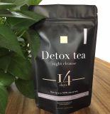 緑茶の解毒の減量の茶(夜は茶14日間の注入を清潔にする)