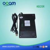 Kb20r Leitor de tarja magnética com 20 teclas Cartão Pinpad Teclado Sensível ao Toque