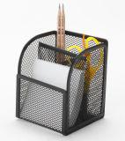 탁상용 사무실 조직자 금속 메시 문구용품 조직자 사무실 책상 부속품
