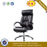 Chaise de bureau en cuir de patron haut de gamme en mécanique de luxe (HX-LC006)