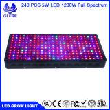1200W à LED à spectre complet croître Double-Chips des feux de 10W à LED Lampe végétales Légumes hydroponiques à effet de serre de la croissance