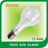 Lampadina incandescente unica di PS35 300With500W con CE&RoHS