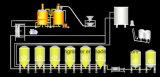 La chaîne de production de bière a le niveau important d'automatisation/de matériel à extrémité élevé de brassage de bière/de matériel de bière en conformité avec des normes européennes