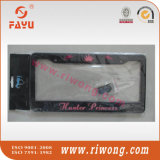 Blocco per grafici di plastica decorativo di bordi dei coperchi della targa di immatricolazione dell'autorizzazione dell'automobile