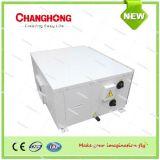 A pressão de estática elevada canalizou a água do condicionador de ar de unidade da bobina do ventilador refrigerada