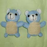승진 사이살 삼 토끼 동물성 목욕 갯솜 아기 목욕 장난감