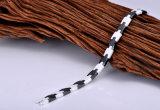 Förderung-weiße und schwarze Farben-keramisches Armband mit Hämatit-Stein