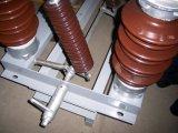 interruptor Horizonte-Giratorio al aire libre de la desconexión de la CA de 33kv/72.5kv/145kv 50Hz/60Hz con 2 postes y una rotura horizontal para poste montado