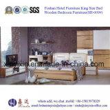 MDF van het Bed van de Grootte van de Koning van het Ontwerp van India het Meubilair van de Slaapkamer (sh-013#)