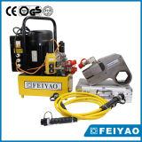 Clé dynamométrique hydraulique de noix lourde en acier de roue de profil bas (Exercice financier-W)