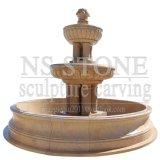 Fontaines commerciales extérieures en pierre de l'eau (mur) pour des jardins pour Sale-Nsmf1701