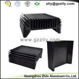 Dissipatore di calore di alluminio dell'espulsione della strumentazione della fase