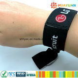 NTAG213 RFID NFC gesponnenes Musikfestival Wristband