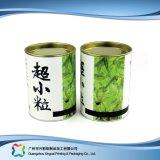 Het stijve Vakje van de Verpakking van de Wijn van de Koffie van de Gift van de Buis van het Document Verpakkende (xc-ptp-019)