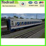 Double-Deck Passagier-Trainer-Hinterauto-Wagen-Bahnserie des speisenden Auto-25b