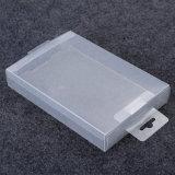 caixa de presente desobstruída de dobramento do empacotamento plástico (PVC)