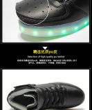 Luminous USB Charging Light Chaussures LED pour la danse