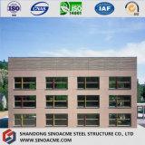 Immeuble à plusiers étages préfabriqué de bâti en acier de qualité africaine