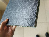 Schwarze Farben-Aluminiumbienenwabe, die Panels einzäunt