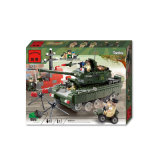 Пластиковый военных блоках бункера игрушки для детей