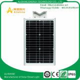 Im Freien integrierte neue 15W LED Solarstraßenlaterne für Garten