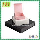Rectángulo de empaquetado de papel rígido del rectángulo de regalo del color del rectángulo de papel de Closuer de la tapa