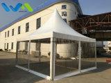 Tenda de pagoda de gazebo de jardim ao ar livre de 5X5m para eventos de banquete de casamento