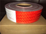 PUNKT C2-Haustier-reflektierendes Band rot und Weiß mit Kristallgitter-Film