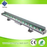 Iluminación impermeable arquitectónica del IP 65 LED con 36 * 1W RGB