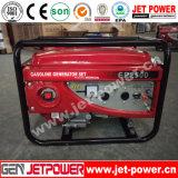 中国エンジン10kwガソリン発電機のホーム使用のポータブルの発電機
