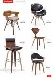 바 의자 의자 나무로 되는 의자 크롬 격판덮개 의자