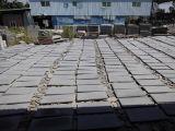 フロアーリングのための性質の暗い灰色の胆ばんの敷石