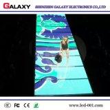 Visualización del LED Dance Floor/pantalla interactivas de P6.25/P8.928 para el alquiler, acontecimiento (cabina de 500mm*1000m m)