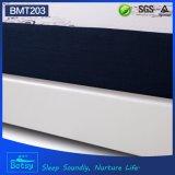El OEM comprimido rueda para arriba el colchón los 25cm altos con espuma de la memoria del gel y la cubierta hecha punto de la cremallera de la tela