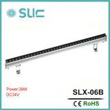 9-36W IP65 LED Wallwasher Light com cor única e RGB para iluminação exterior