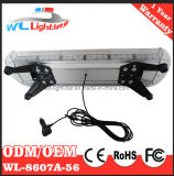 barra clara da lâmpada de advertência da polícia do diodo emissor de luz 56W mini