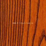 Le grain de bois décoratifs Film PVC/Aluminium pour meubles/armoire/Porte de placard presse vide