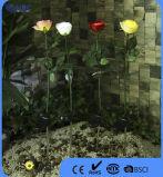 4つのカラー屋外の装飾のための任意選択人工的なローズ様式の太陽ライト