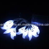 LED en forma de estrella de Navidad de Halloween 220V 12V de entrada de salida de luz de hadas
