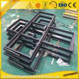 Perfil de alumínio de alumínio do frame de porta do lingote do OEM para a porta deslizante de vidro