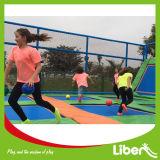 TUV Aprobado Dodge Ball Kids Trampolín para el área de trampolín al aire libre