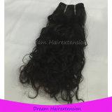 Человеческие волосы девственницы волны надкожицы неповрежденные малайзийские естественные