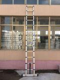 Escada telescópica de alumínio com o certificado En131-6