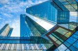 Parete divisoria di vetro Tempered dell'isolamento termico per costruzione