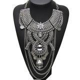 Juwelen van de Halsband van de Nauwsluitende halsketting van de Verklaring van het Kristal van de Legering van het Metaal van de Laag van de manier de Multi