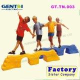 Placa em ponte de brinquedos a crianças da Balança de plástico